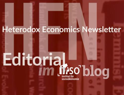 Reflexionen über den Publikationsprozess (HEN Editorial 284)