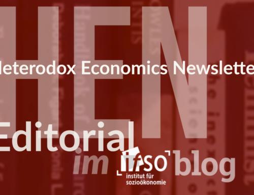 Zum Stand des interparadigmatischen Austausches (HEN Editorial 287)